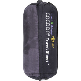 Cocoon Insect Shield TravelSheet Drap pour sac de couchage Soie, rhino